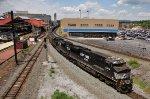NS 8019 leading  coal train 776